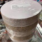 8inch corrugated white boared